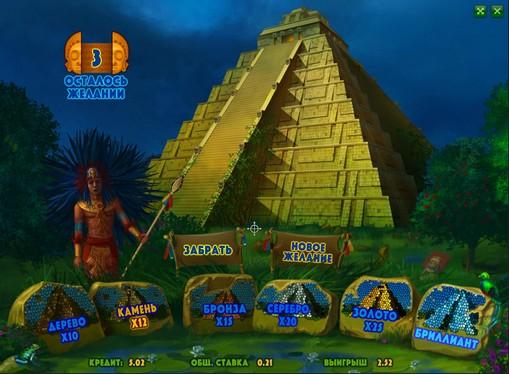Bonuspeli hedelmäpeli Aztec Empire