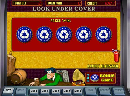 Bonuspeli hedelmäpeli Lucky Haunter