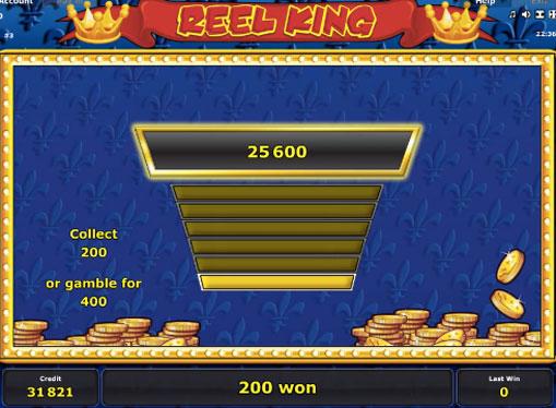 Peliautomaattien kaksinkertaistaminen Reel King
