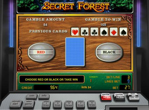 Peliautomaattien kaksinkertaistaminen Secret Forest