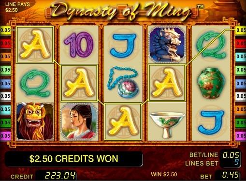 Dynasty of Ming pelaa peliautomaattia verkossa rahaksi