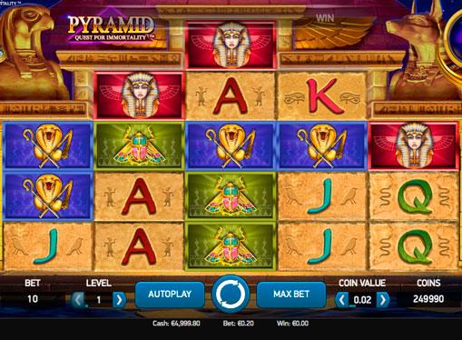 Raha-automaatit rahoille - Pyramid