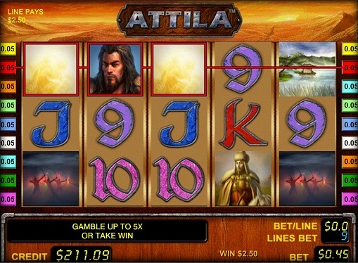 Pelaa peliautomaattia Attila