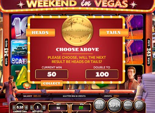 Online-hedelmäpelin ominaisuudet Weekend in Vegas