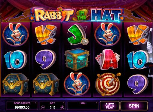 Raha-automaatit rahoille - Rabbit in the Hat