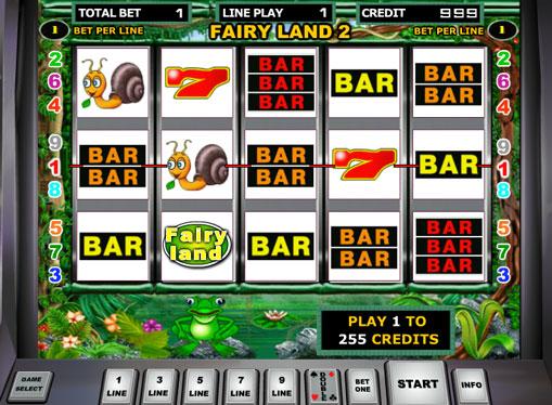 Fairy Land 2 pelaa peliautomaattia verkossa