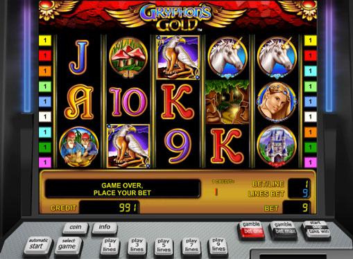 Gryphon's Gold pelaa peliautomaattia verkossa