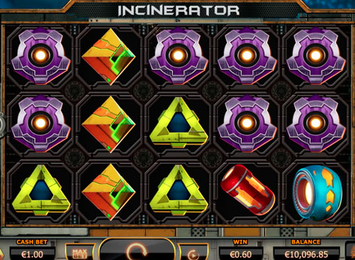 Pelaa koneita oikealla rahalla - Incinerator
