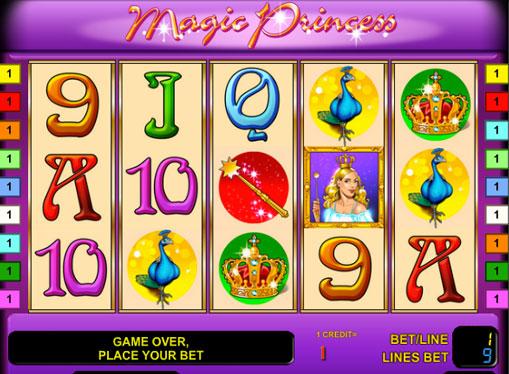 Magic Princess pelaa peliautomaattia verkossa rahaksi