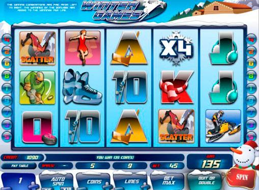 Winter Games pelaa peliautomaattia verkossa rahaksi