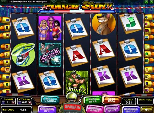 Police Story pelaa peliautomaattia verkossa rahaksi