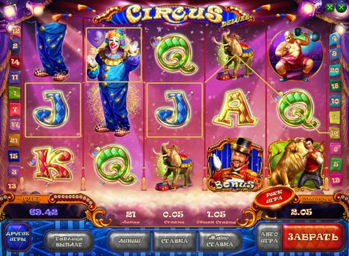 Rahapelien palkinnot Circus HD