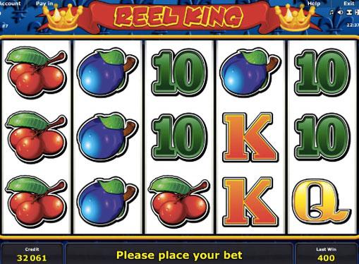 Reel King pelaa peliautomaattia verkossa rahaksi