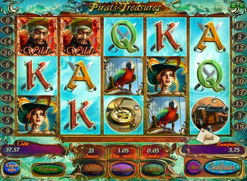 Hedelmäpelin kelat Pirates Treasures HD