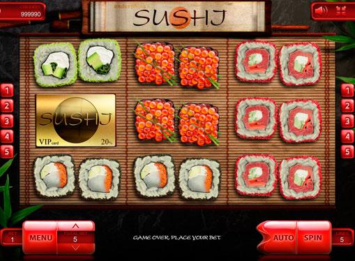 Hedelmäpelin kelat Sushi