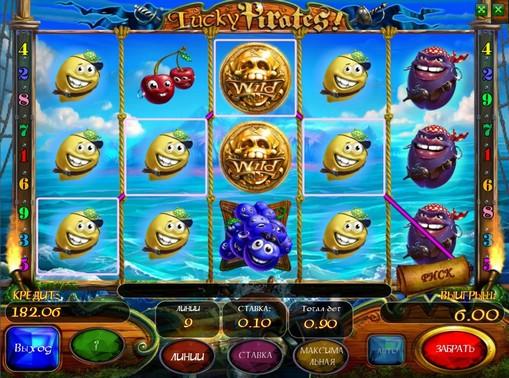 Lucky Pirates pelaa peliautomaattia verkossa rahaksi