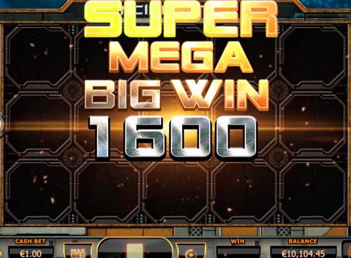 Super mega voittaa Incinerator peliautomaatteihin
