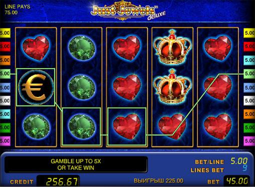 Just Jewels Deluxe pelaa peliautomaattia verkossa